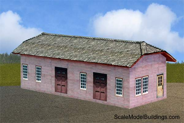 photo relating to Ho Scale Buildings Free Printable Plans referred to as Cardstock Constructions for Style Railroads and Dioramas