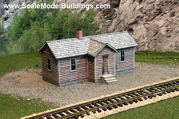 graphic about Ho Scale Buildings Free Printable Plans identify Cardstock Constructions for Type Railroads and Dioramas