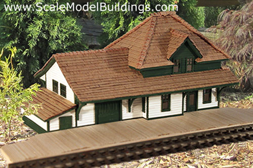 Cardstock Structures for Model Railroads and Dioramas ... on warehouse house plans, school house plans, hotel house plans, mill house plans, bank house plans, round barn house plans, library house plans, colonial house house plans, lookout tower house plans, hunting lodge house plans, church house plans,