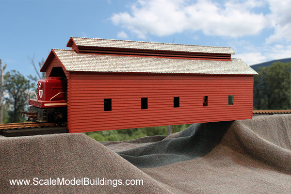 ho scale buildings and structures cardstock structures for model railroads and dioramas