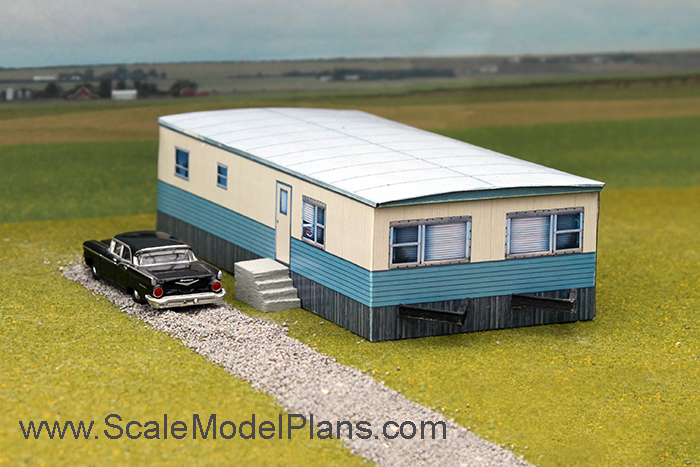 Make a scale model of your house